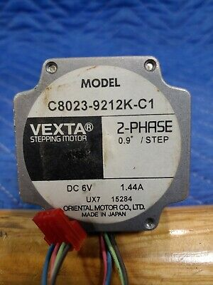 VEXTA Stepping Motor 2-phase 0.9/step, Model  C8023-9212K-C1