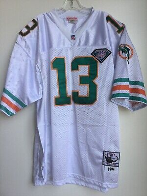 944f0445 VINTAGE MITCHELL & Ness Dan Marino Throwback Nfl Football Jersey ...