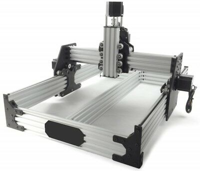 TALLER OX CNC Router Mechanical Kit with 4 Nema Stepper Motor+ Spindle mount