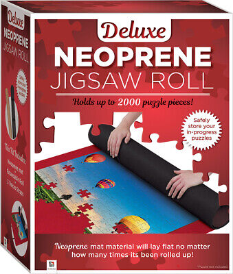 Deluxe Neoprene Jigsaw Roll - Holds up to 2000 Puzzles Pieces