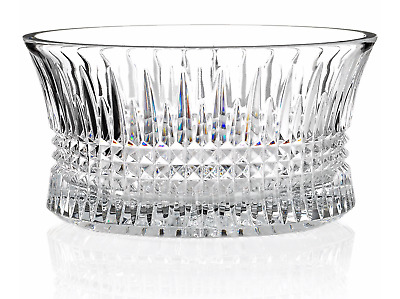 """$325 WATERFORD CRYSTAL Lismore Diamond 10"""" inch Serving Bowl NEW IN BOX"""