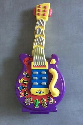 The Wiggles Play Along Guitar Kids Musical Toy 2895 Picclick Au