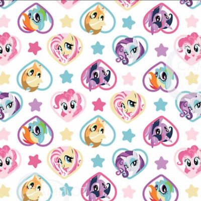 My Little Pony Ponies Navy Hasbro Camelot 100/% cotton fabric by the yard