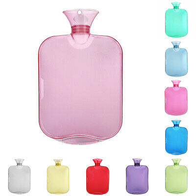 1pc Portable PVC 2000ml Hot Water Bottle Bag Home Relaxing Keep Warm Accessories