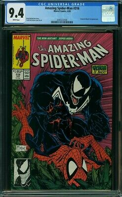 Amazing Spider-Man 316 CGC 9.4 Marvel 1989  Venom appearance