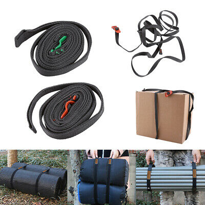 2.5m Luggage Strap Cord Rope Travel Packing Belt Adjustable Baggage Tie Straps