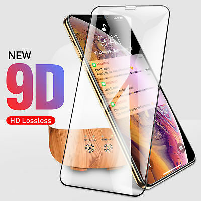 9H 9D Screen Protector Tempered Glass Film For iPhone XS Max XR X 8 7 6s Plus AU