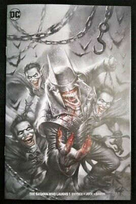 Batman Who Laughs #1 Lucio Parrillo Minimal Trade Dress Variant Limited to 1500