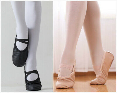 Au Stock Child To Adult Full Genuine Leather Ballet Jazz Dance Shoes Da030