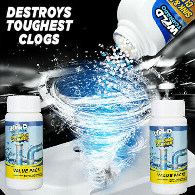 Toilet Cleaner Sink and Drain Agent for Bathroom Home Drainage Strainer Powerful