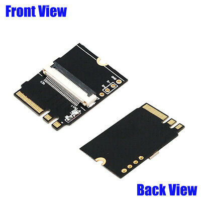 """➨➨➨ Sleeved 8/"""" PCI-E 8 PIN Right Bend PWR Extender Low Profile Cable"""
