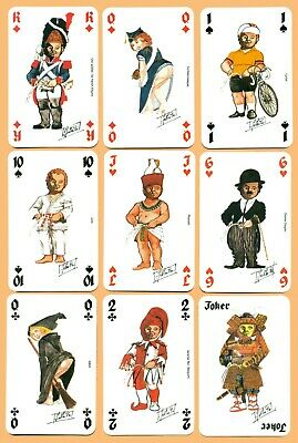 Baraja Manneken pis. NAIPES. PLAYING CARDS. JEU DE CARTES. SPIELKARTEN