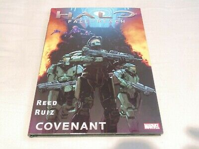 Halo Fall of Reach Covenant – Hardcover Graphic Novel – Reed & Ruiz – Used