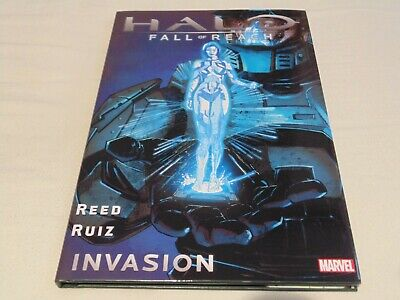 Halo Fall of Reach Invasion – Hardcover Graphic Novel – Reed & Ruiz – Used