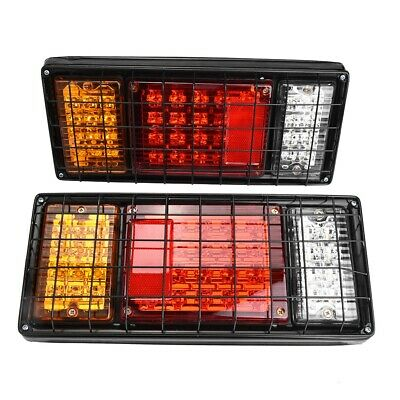 Universal Pair 12V LED Trailer Lights 40 LED Stop/Rear light/ Indicator/ Reverse