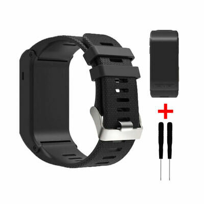 For Garmin Vivoactive HR Replacement Sport Soft Silicone Wristband Band St LHZ