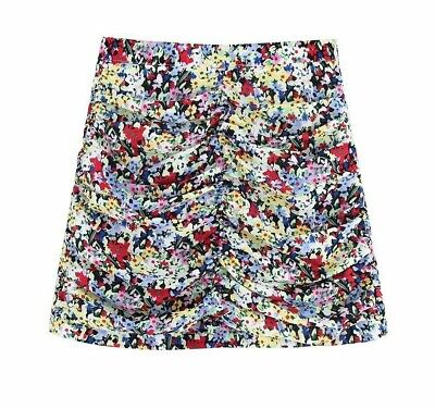 Women's Boho Styles Summer Skirts Vintage Floral Prints A Line Sexy Mini Outfits