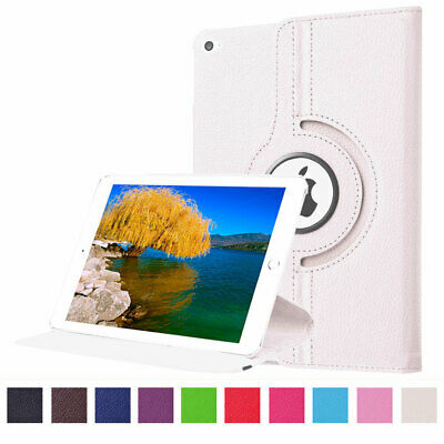 For Apple iPad Mini 4 360 Rotating Leather PU Stand Case Smart Stand Sleep Cover