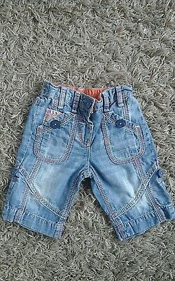 NEXT Baby Girl Denim Style  Trousers Age 6-9 months