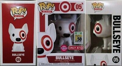 Funko Pop! Ad Icons: Target Exclusive - Flocked Bullseye SDCC 2019 Debut