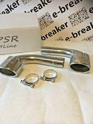 Porsche 996 Exhaust Silencer Delete Muffler Bypass Pipes 3.6 GT3 3.4 Cup Car PSR