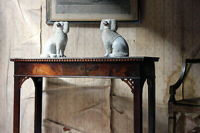 Antique George III Chippendale Design Mahogany & Marble Side Table c.1780
