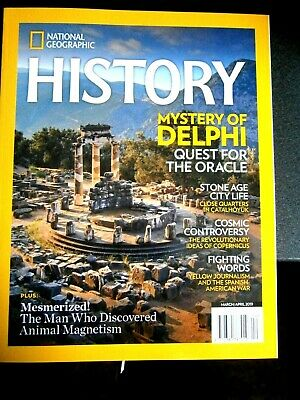 National Geographic History Magazine March/April Issue 2019 (new)