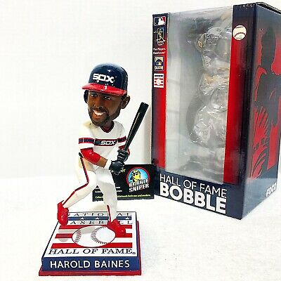 """HAROLD BAINES Chicago White Sox Cooperstown HOF """"Class of 2019"""" Bobble Head*"""