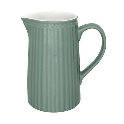 GreenGate Milchkanne Wasserkrug Alice Dusty Green Geschirr Vintage