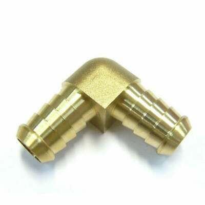 Solid Brass Hose Barb Tail Elbow All Sizes Available Made in Australia