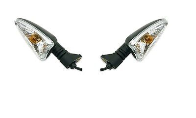 2008-2012 Indicator Lens Clear Triumph Street Triple 675 Front Right Each Global