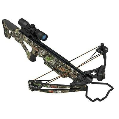 New 2019 Wildgame Innovations XB370 Barnett 4x32 Scope Crossbow Pkg BAR78194