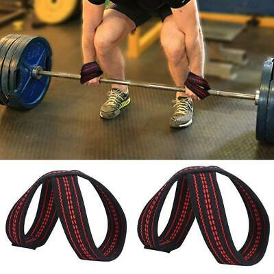 New Figure 8 Weight Lifting Straps DeadLift Wrist Strap for Pull-ups QUALITY