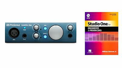 PreSonus AudioBox iOne USB Interface w/ Studio One for Engineers and Producers