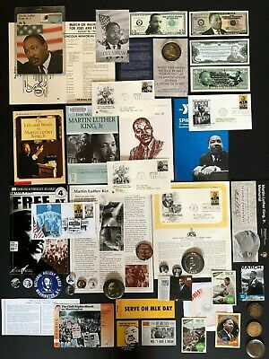 Huge Martin Luther King Jr Collection/Collectibles/Memorabilia/Coins