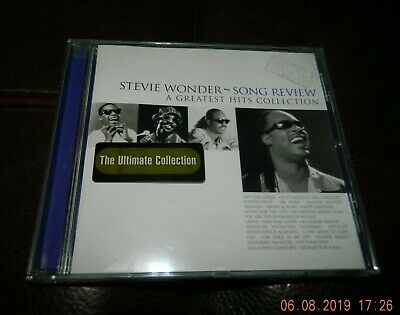 Cd - Stevie Wonder - Song Review - A Greatest Hits Collection  - Superb Album