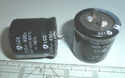 2 pcs NICHICON  LGX2H560MELZ25  Elko Snap-In 56uF 500V 22x25mm 105° 5000h  #WP