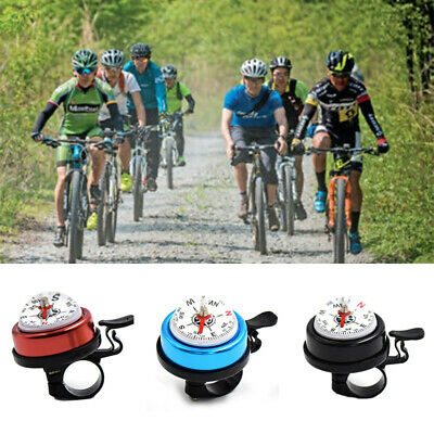 Bike Bell Mountain Bicycle Mini Bell Compass Cycling Horn Handlebar Alarm RiATA