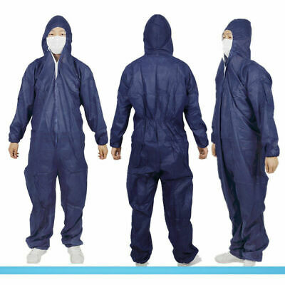Clothing Disposable DIY Paper Suit Protective Overall Clothes Work Coverall Q1C1