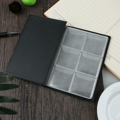10 Pages 60 Pockets Album Silver Dollar Coins Collection Book Organizer #3YE