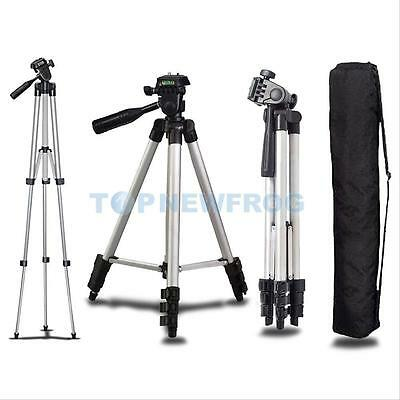 Professional Tripod Mount Stand for DSLR Canon Nikon Sony Camera Camcorder