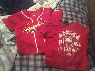 Toddler Boys St. Louis Cardinals Lot Size 3T