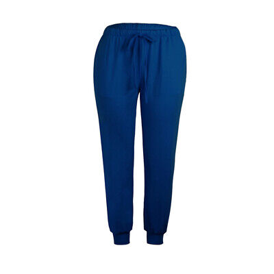 Women Casual Low Waist Solid Pants Pencil Multi-pockets Ankle Skinny Trousers