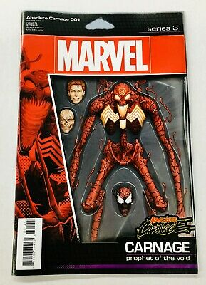 Absolute Carnage #1 Action Figure Variant Marvel NM Comics Book