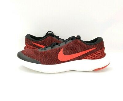 Nike Flex Experience RN 7 Black Red White 908985-006 Men's Running Shoes size 12