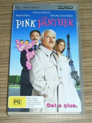 PSP UMD Video - The Pink Panther