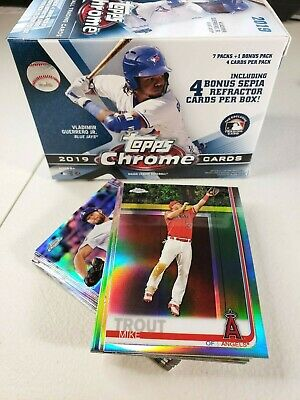 2019 Topps Chrome Refractor YOU PICK COMPLETE YOUR SET FREE SHIPPING