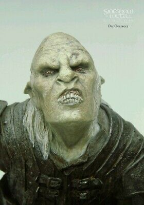 Lotr Sideshow Weta Orc Overseer 1:6 Scale Statue Figure Bust Rare