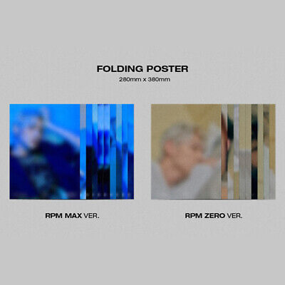 Sf9 - 7Th Mini Album Rpm Folding Poster Taeyang Dawon Hwiyoung Inseong Zuho