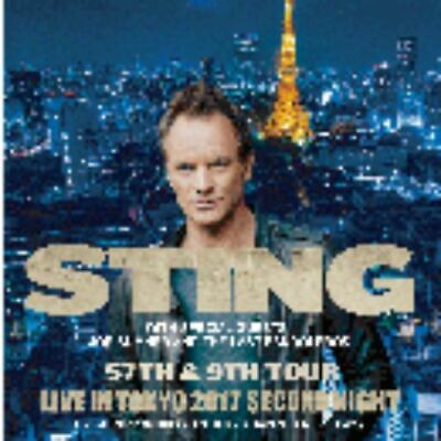 NEW STING LIVE IN TOKYO 2017 SECOND NIGHT 2CD-R#Fi